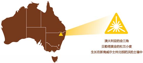 澳大利亚的金三角